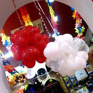 C mo hacer topiarios de globos para decorar fiestas en - Como hacer lamparas colgantes ...