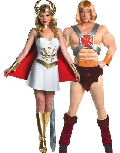 Halloween Costumes Ideas 2020 Men He Man and She Ra Couples Costumes   Party City | Jax's 4th