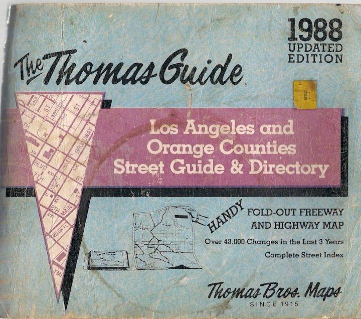 The Thomas Guide Spiritual - Us paper map thomas guide