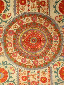 Central Asian Susani 1970's | World Costumes & Textiles | Meg ...