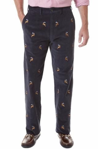 df83a30e Mens Embroidered Pants: Best Christmas & Party Pants – Castaway Nantucket  Island