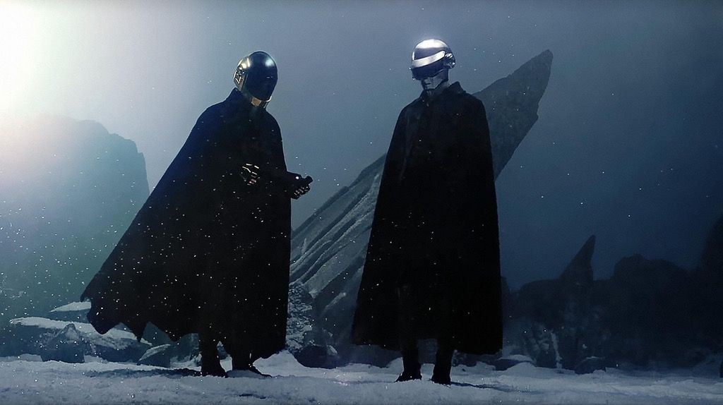 Daft Punk I Feel It Coming Wallpaper Digitally Enhanced