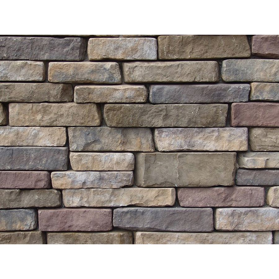 Ply Gem Stone Ledgestone 10 Sq Ft Sherwood Faux Stone Veneer 755117108 Shops Lowes And Faux Stone