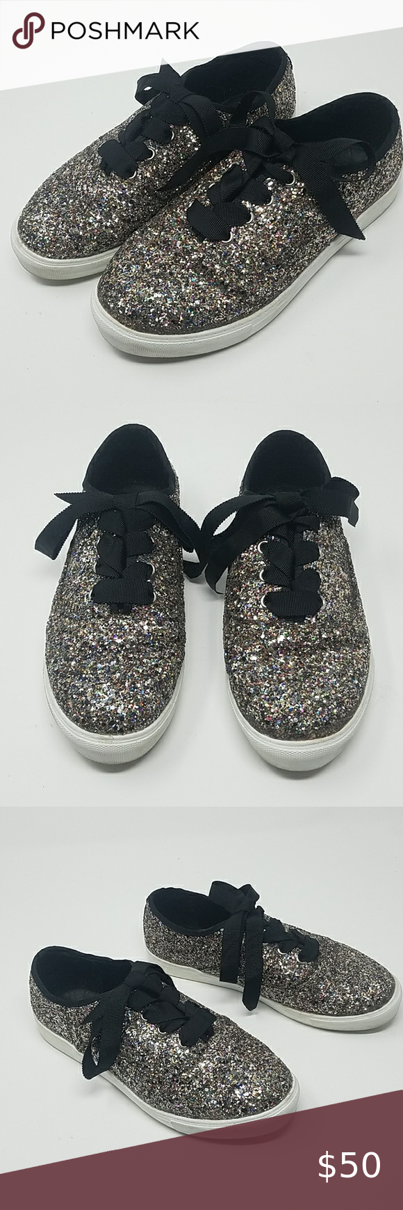 TORRID All Over Glitter Sneakers size 8