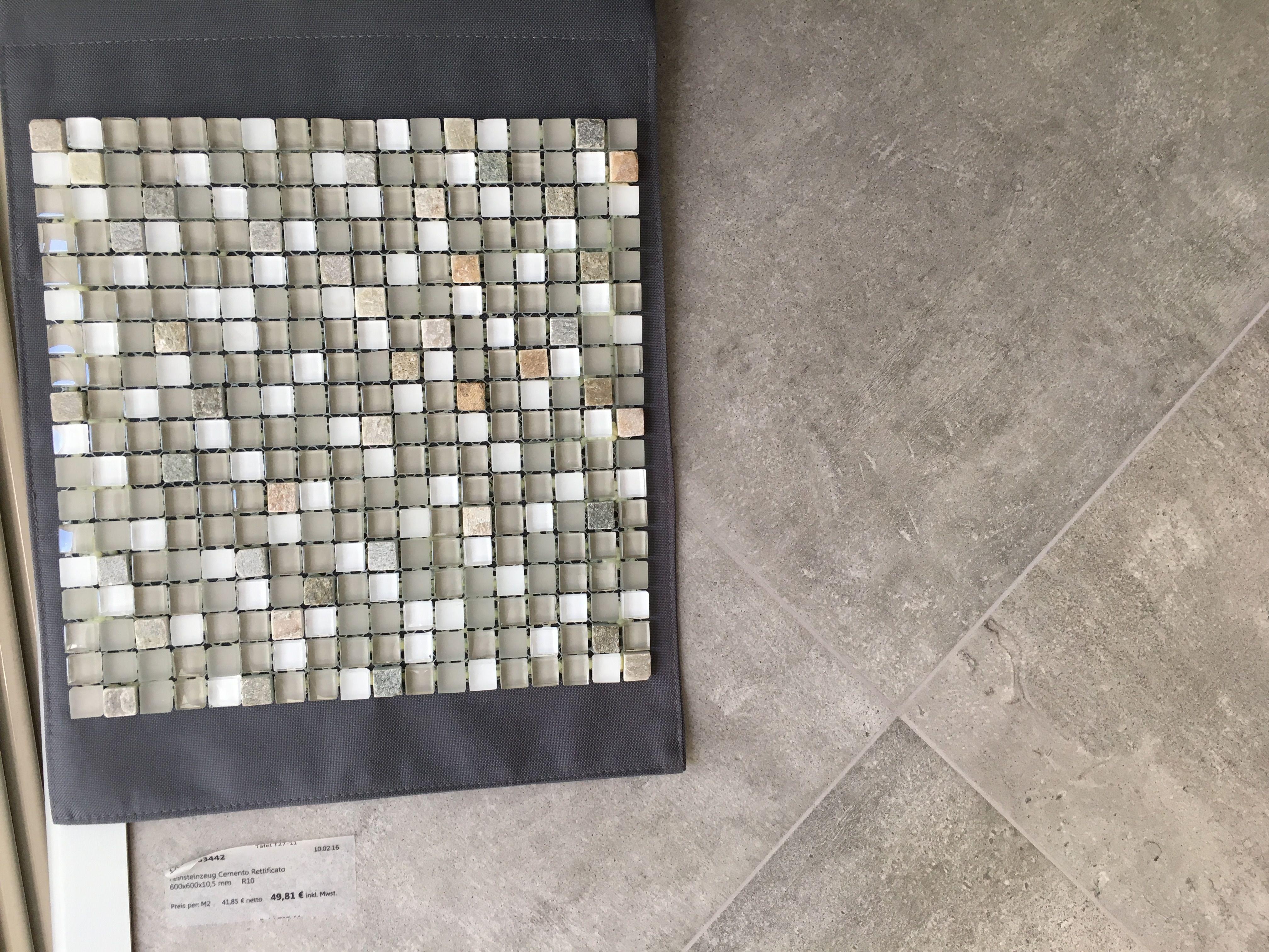 Mosaik fliesen mit Emil Square Concreto
