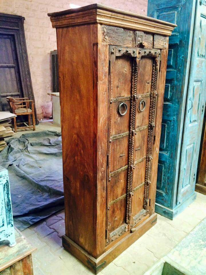 Antique Rustic Cupboard Indian Home Decor Middle Eastern Decor Indian Decor