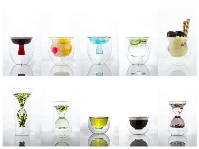 Amazing cocktail glasses