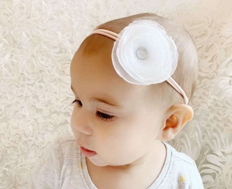 Olive Green Headband  Baby Headband  Toddler Headband  Baby Shower  Baby Bow  Newborn Gift Baby Gift