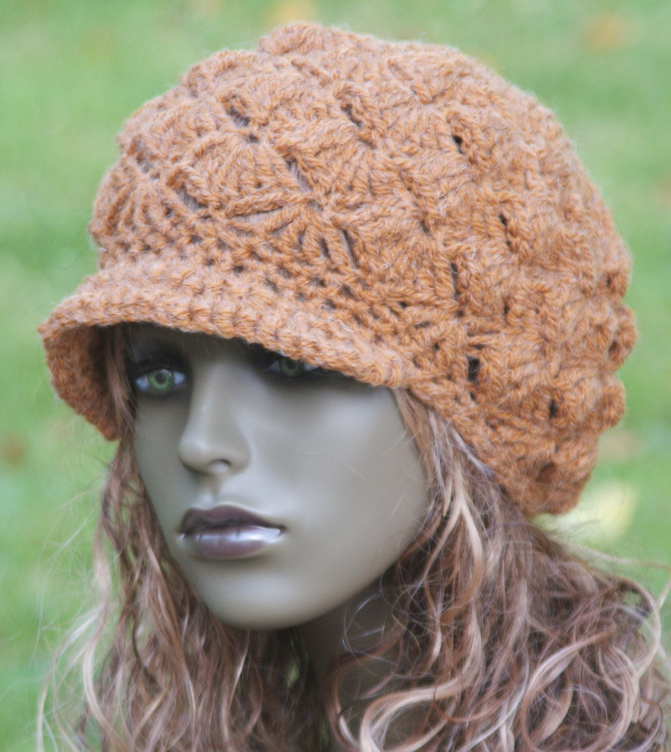 Newsboy hat pattern crocheted pattern pdf only n033 crochet newsboy hat pattern crocheted pattern pdf only n033 bankloansurffo Images