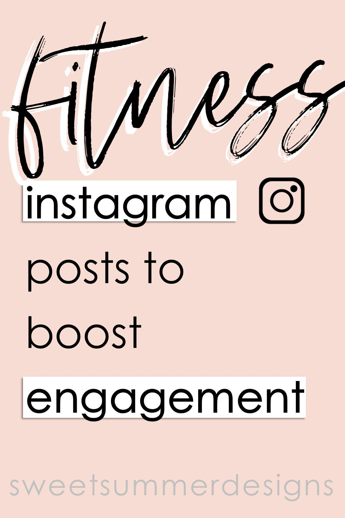 65 Fitness Instagram Posts Workout Quotes Social Media Etsy Fitness Instagram Lifestyle Blog Topics Coach Instagram