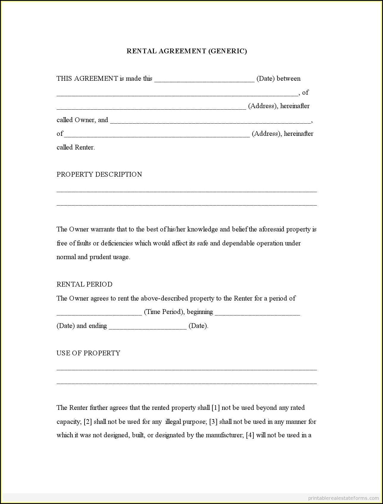 Unique Rental Application Form Free Xls Xlsformat Xlstemplates Xlstemplate