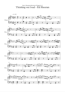 popular piano sheet music free