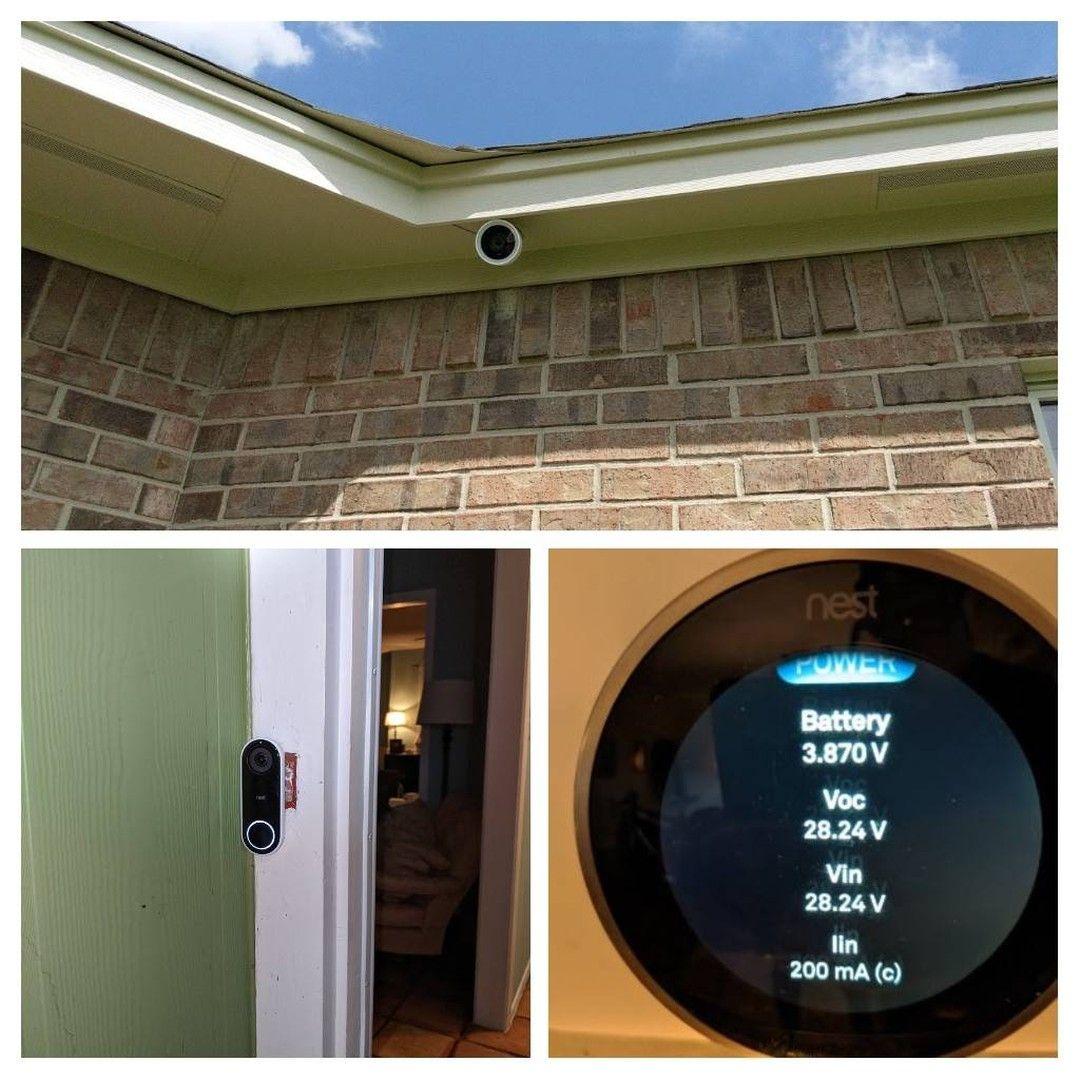 Google Nest outdoor camera doorbells thermostats smart