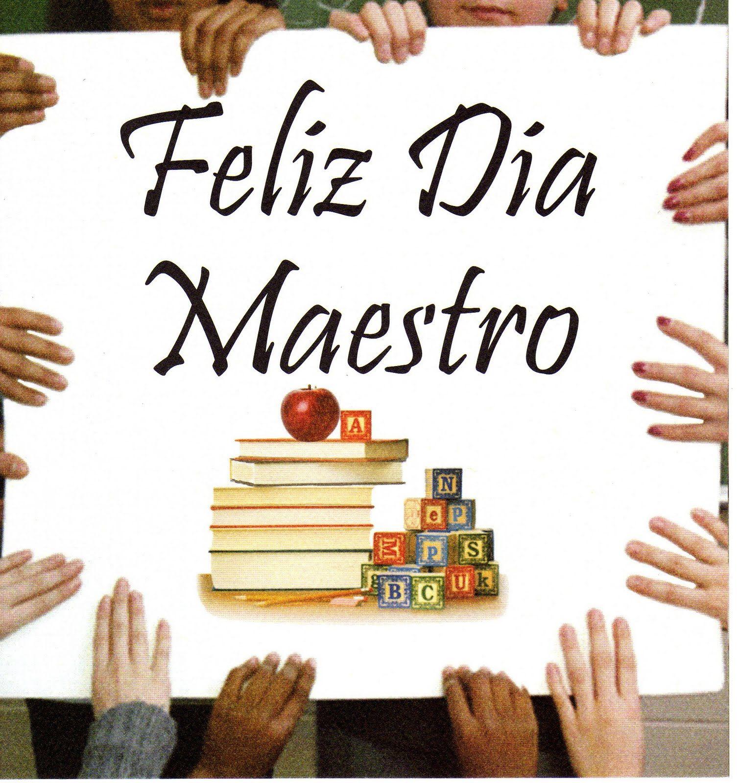15 Mayo Dia Del Maestro Dia De Los Maestros Tarjeta De Feliz Dia Del Maestro Feliz Dia Del Maestro