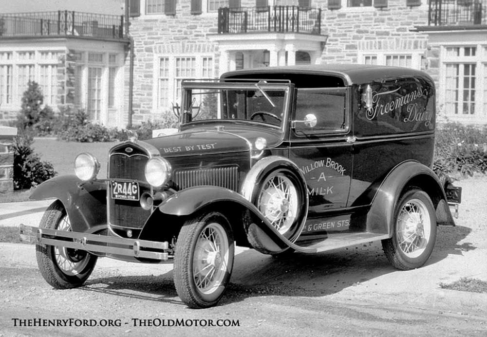 Putting on the Ritz – The Model A Ford Town Car Sedan Delivery | The ...