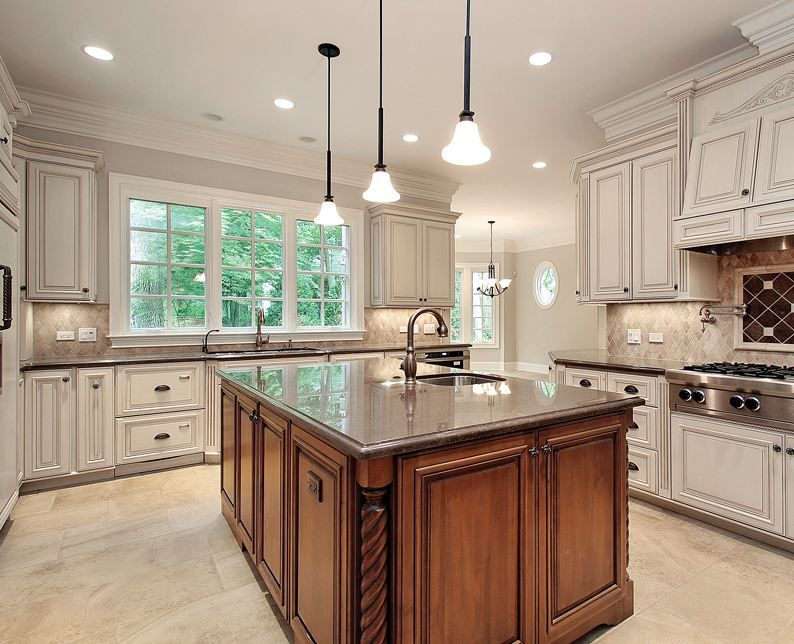 picasso brushed and chiseled travertine kitchens pinterest