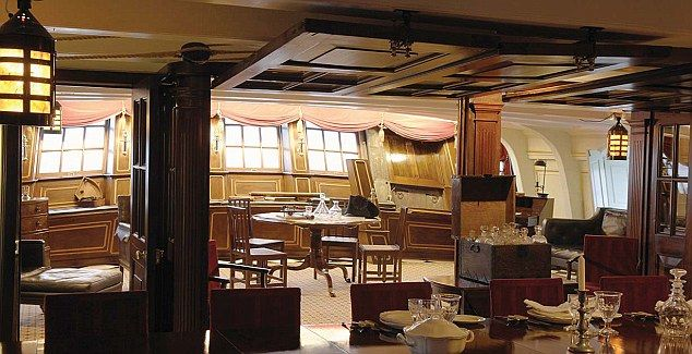 All Aboard The Party Boat HMS Victory Hired Out For