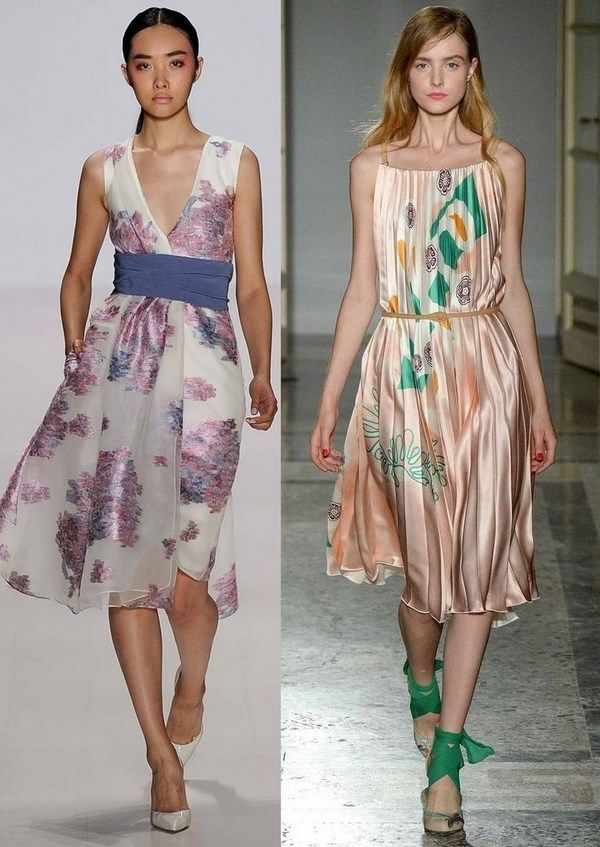 3cc1a7f617a Модные летние платья 2019-2020 год  фото