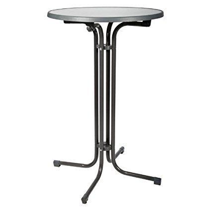 beautissu bellini mange-debout pliable - table haute de bar
