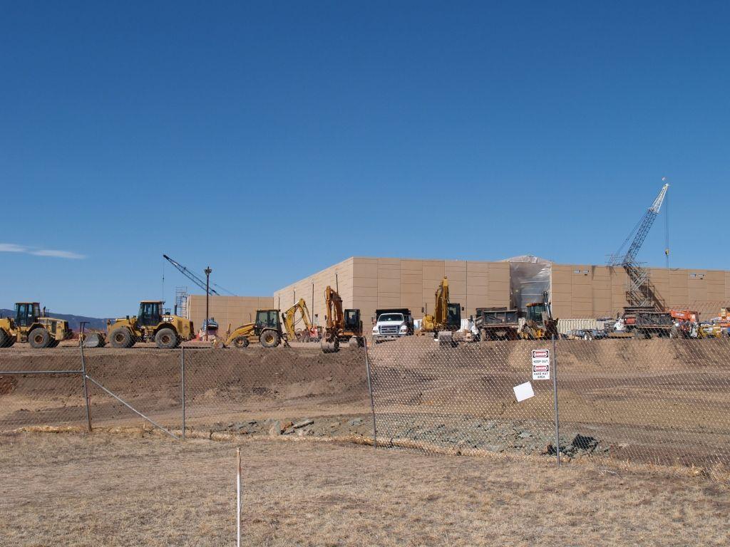 Construction Pics of Walmart's new $ 100M Data Center