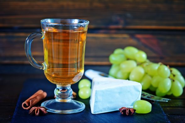 PGI   Brittany cider is made in a large area covering the westernmost corner of France, southwest of the capital city of Paris and northwest of the city of