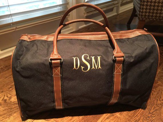 Personalized Duffle Bag - Monogrammed Bag - Duffle Bag for Men - Luggage - Overnight  Bag - Travel Ba 63ca94e0453f7