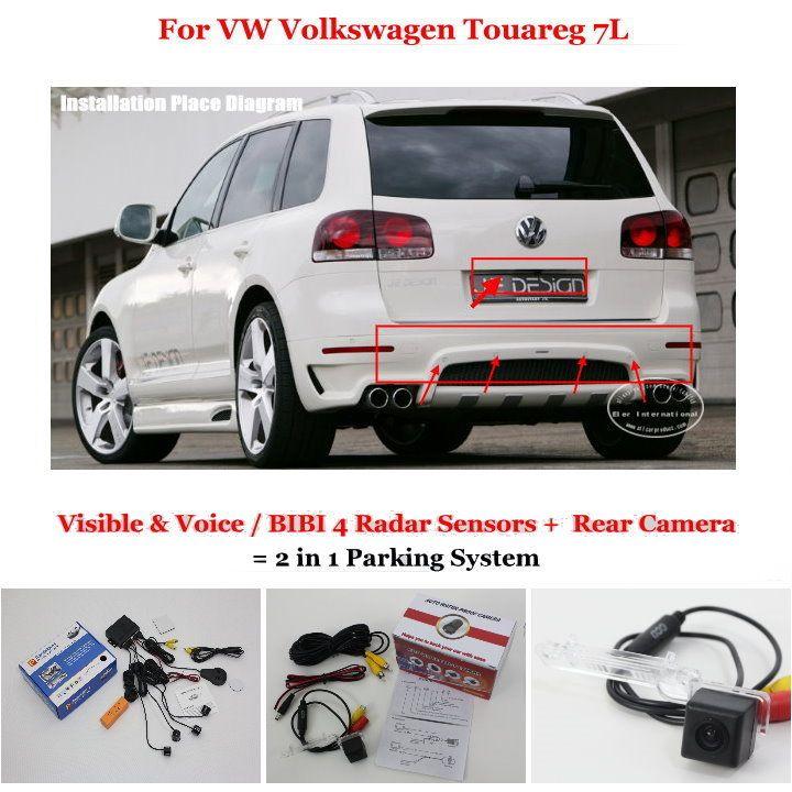 VW Volkswagen Touareg 2002-2010 7L Car Reverse Rear Parking Camera Reversing ET