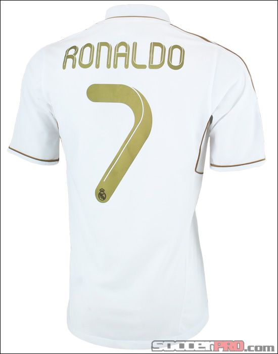 separation shoes e4824 5b8be The adidas Real Madrid Cristiano Ronaldo Home Jersey - 2011 ...