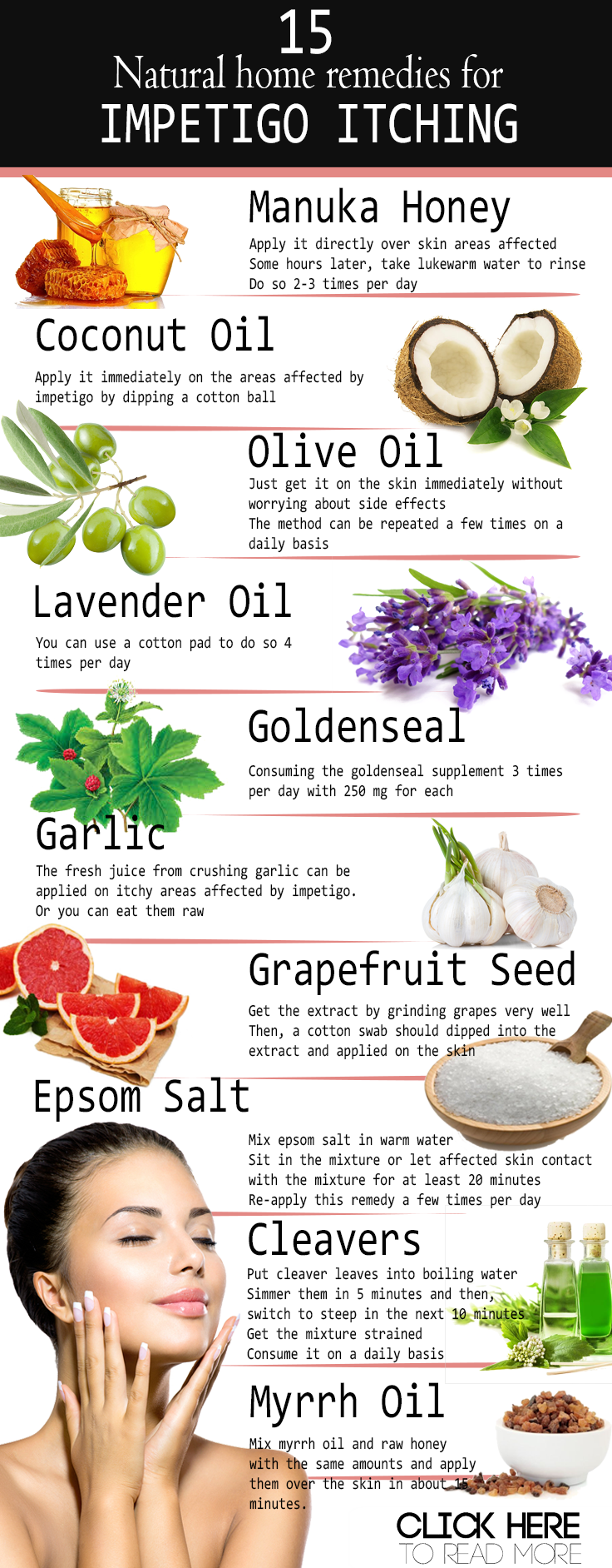 Home Remedies For Impetigo Itching Epsom Salt Manuka Honey Aloe