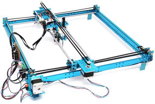 Detail of the plotter 3d Print/ CNC / Fabrication Pinterest - construire sa maison en 3d logiciel gratuit
