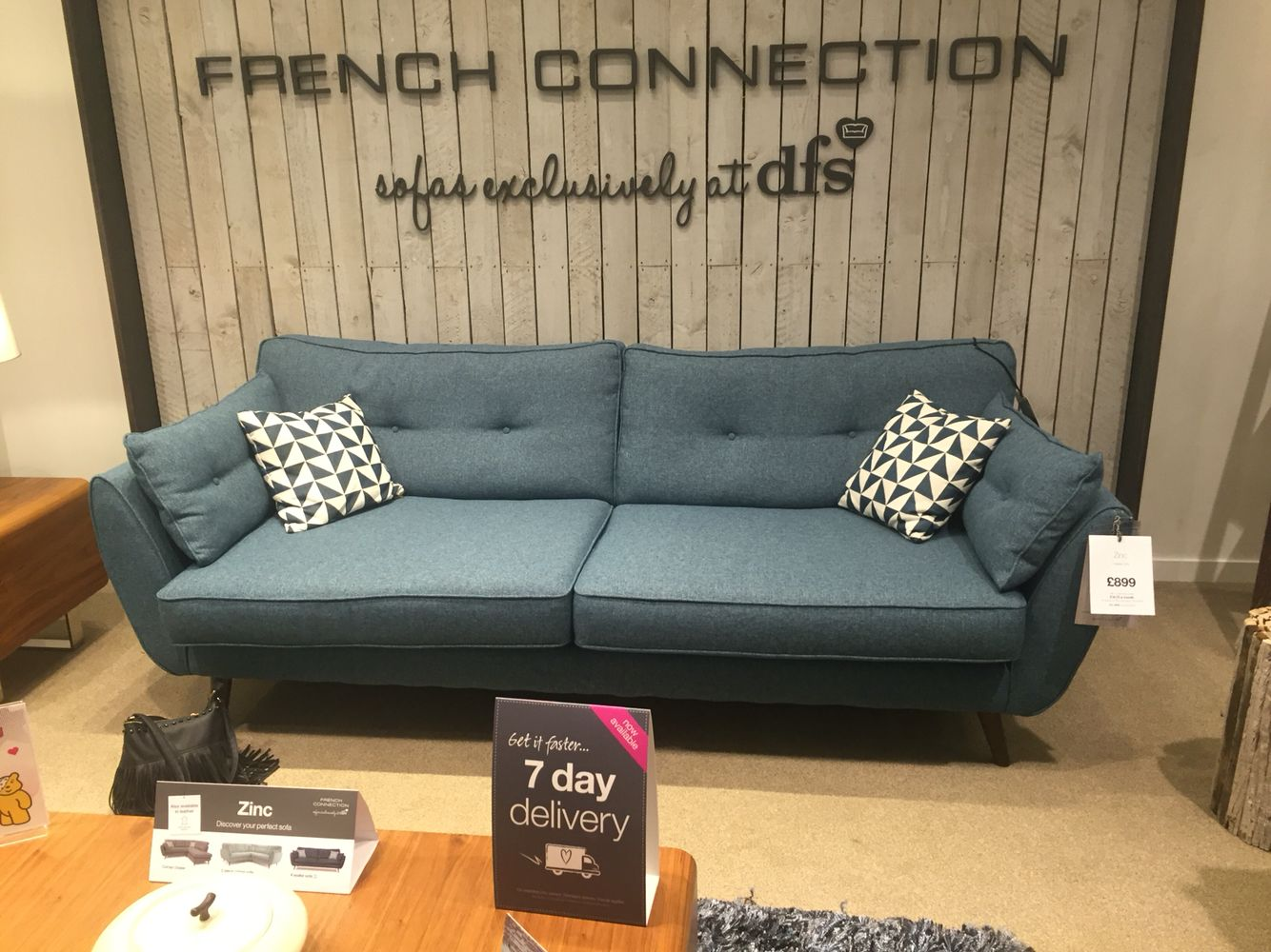 french connection sofa dfs nice in grey too yes that 39 s. Black Bedroom Furniture Sets. Home Design Ideas