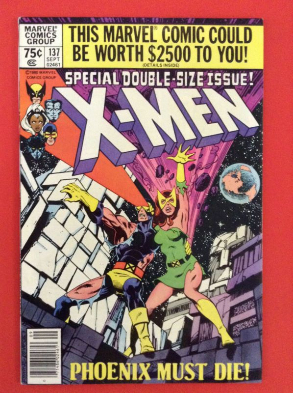 Xmen 137 Cover With Images Xmen Comics Comic Book Covers Marvel Comic Books