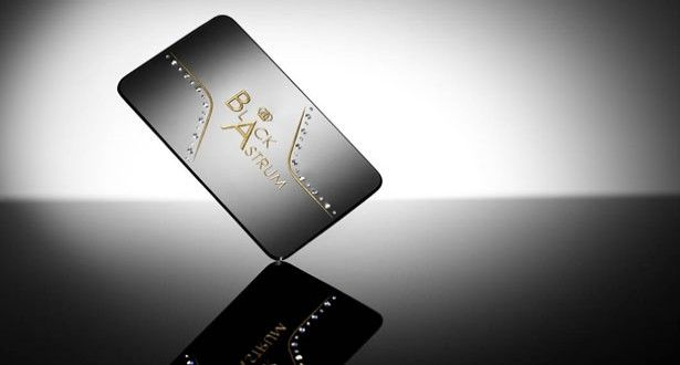 The World S Most Expensive Business Card Unique Business Cards Business Cards Cards