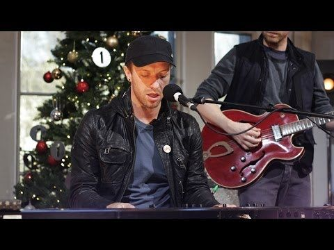 Coldplay White Christmas In The Christmas Live Lounge Coldplay Chris Martin Christmas Music
