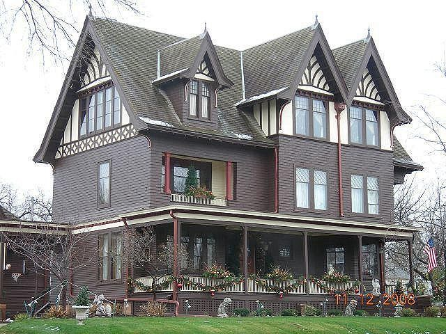 The Chocolate Mansion Mansions Sioux City Iowa Old Houses
