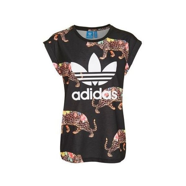 adidas animal print shirt
