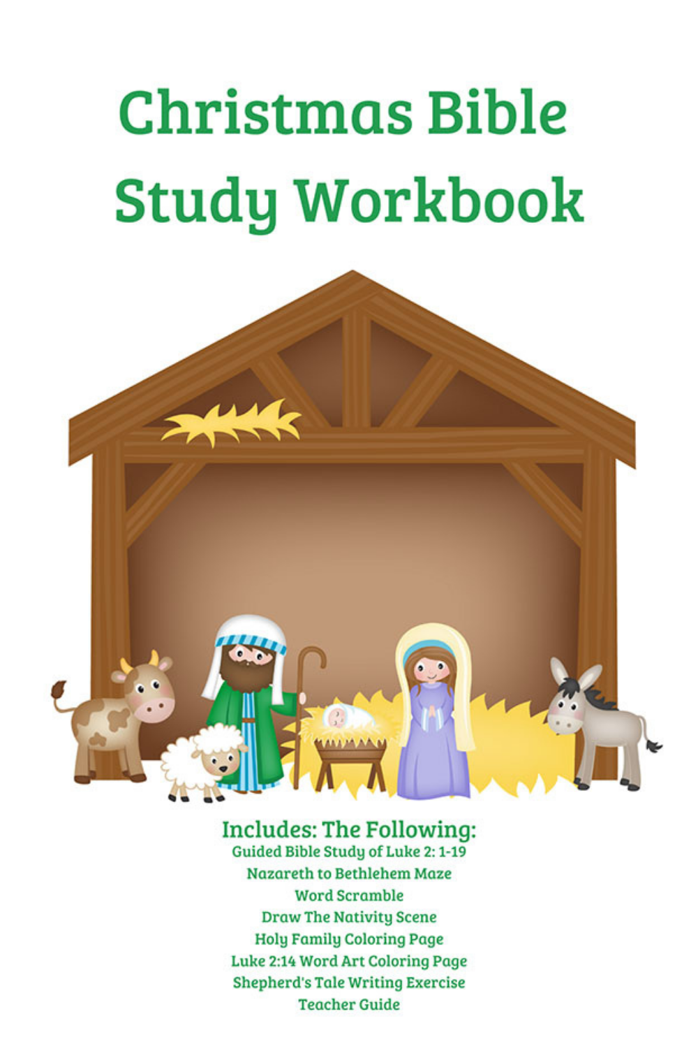 Christmas Bible Study 2020 This Christmas Bible Study for Kids Guides Them Through The