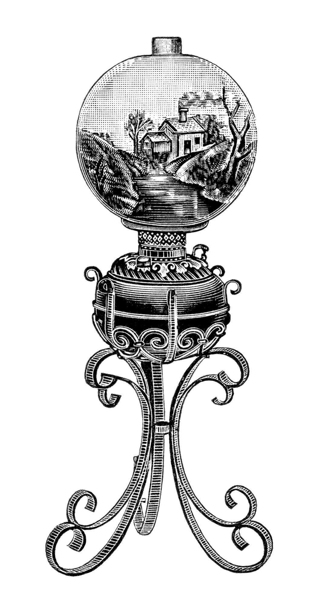 lamp clipart black and white. explore clipart black and white, victorian lamps, more! lamp white