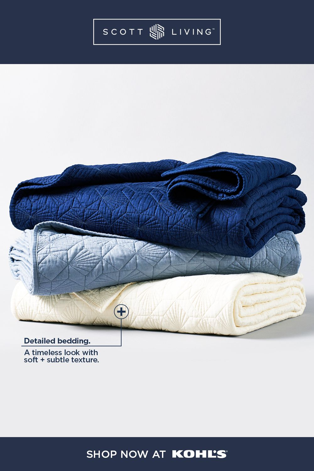 Find Scott Living At Kohl S The Right Bedding Brings
