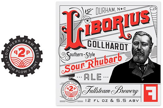 Fullsteam Brewery Branding by Helms Workshop   Inspiration Grid   Design Inspiration