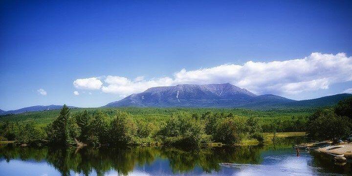 Mount Katahdin, Maine, USA