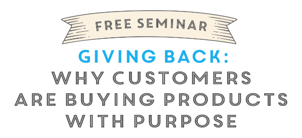 Don't forget: Free seminar @ AmericasMart Atlanta is TODAY at noon!  Giving Back: Why Customers Are Buying Products With Purpose features managing editor Sam Ujvary plus Julie Turner of The Ivy Lane, Alison Anderson of A. Dodson's and Renee Webb of Do Good.  More details: https://www.americasmart.com/browse/#/events/6468 {Sponsored}