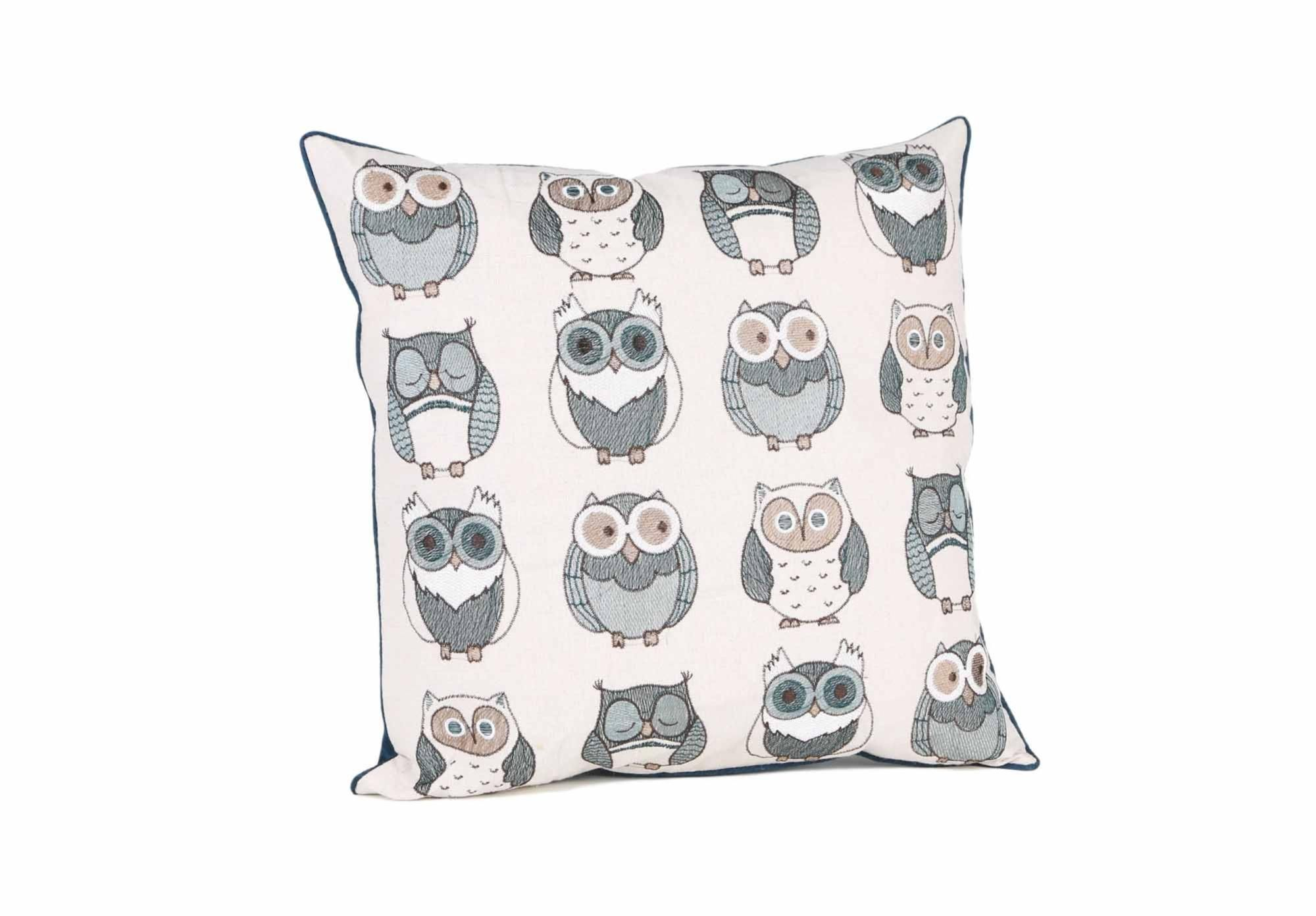 Dora Owl Cushion   Rugs And Cushions   Living Room Storage | Bookcases | Furniture  Village