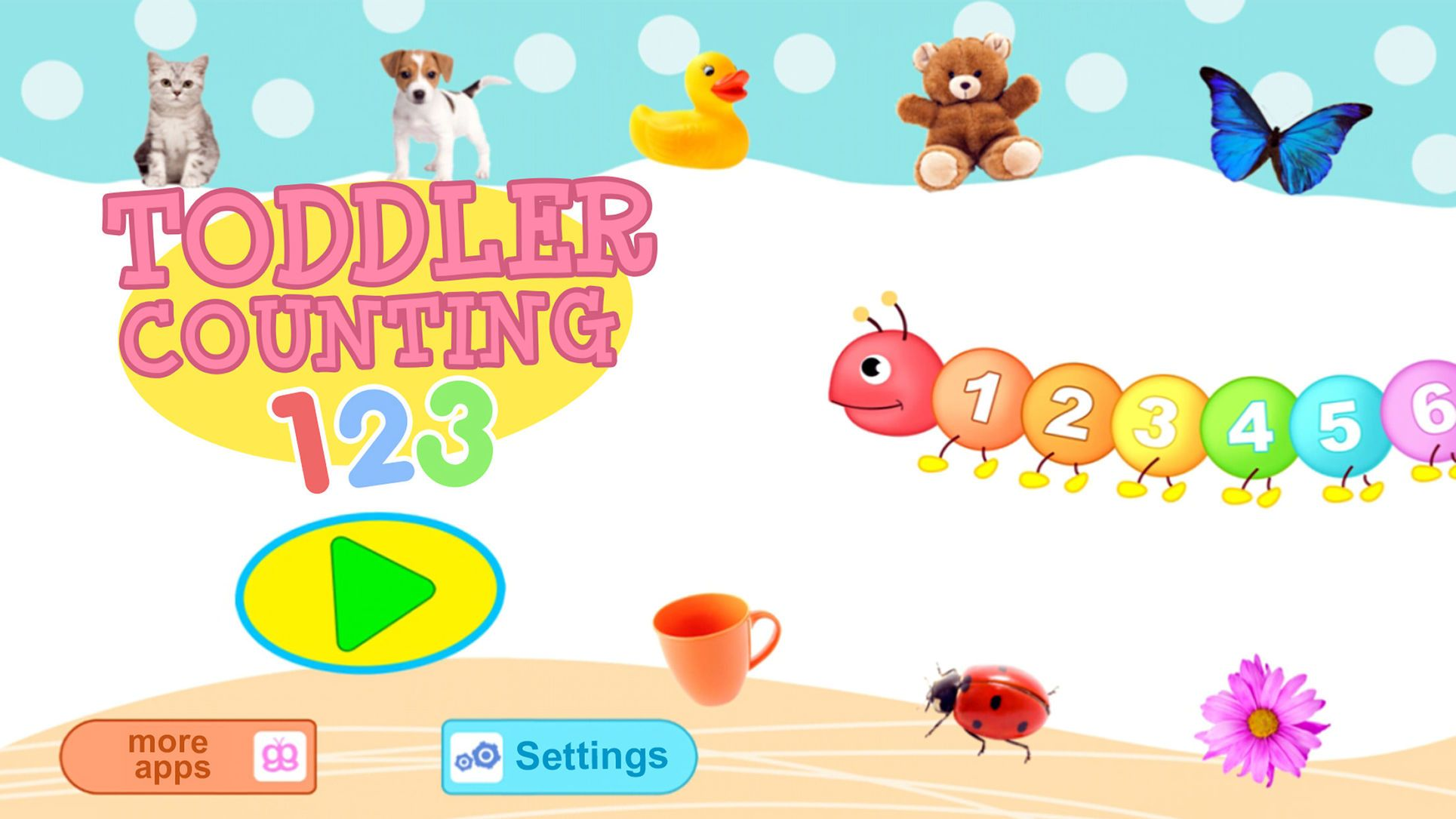 Toddler Counting 123 Learn To Count For Kids Apps Kids Giggleup Pty Counting For Kids Counting For Toddlers Educational Games For Preschoolers