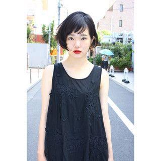 HAIR】片山 あすかさんのヘアスタイルスナップ(ID:130861) | 短い髪 ...