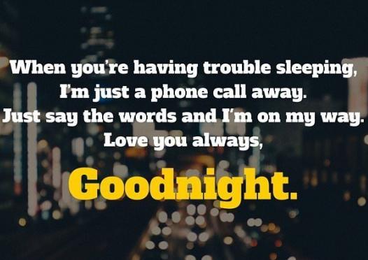 Flirty goodnight text messages