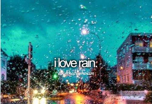rainy rainy day.