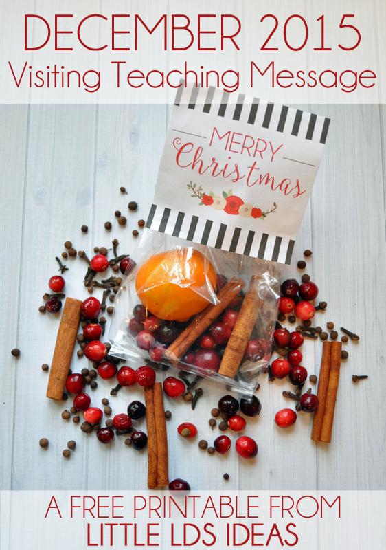 Lds christmas gift ideas neighbors