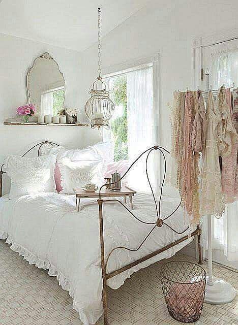Shabby Home sweet home Pinterest Recamara vintage, Recamara y - decoracion recamara vintage