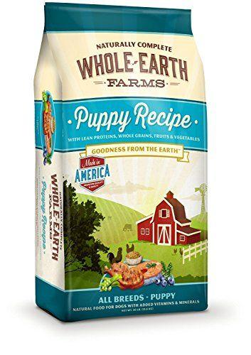 30 Lb Added Vitamins Minerals Puppy Recipe Dog Food Want